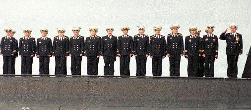 курск подводная лодка состав экипажа
